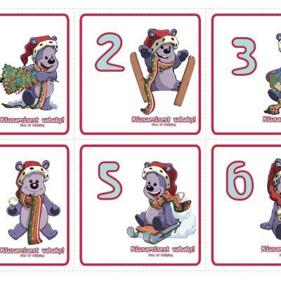 Адвент-календарь Друга Медведя (на эстонском)